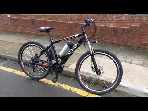 video ANCHEER Power Plus 21 Speed Electric Mountain Bike