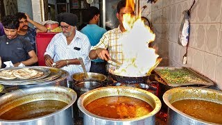 CHEAPEST DHABA FOOD | Sabji for Rs 30, Roti for Rs 5 | Indian Street Food
