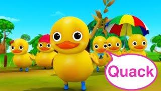 Six Little Ducks   Little Baby Bum Nursery Rhymes Compilation   Kids Songs