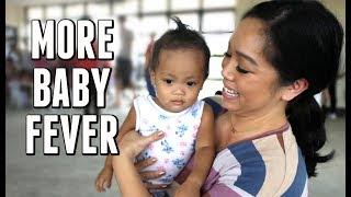 EVEN MORE BABY FEVER!!! -  ItsJudysLife Vlogs