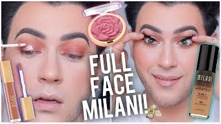 FULL FACE USING ONLY MILANI! DRUGSTORE ONE BRAND TUTORIAL!