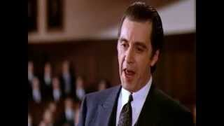 Scent of a Woman   Al Pacino Speech