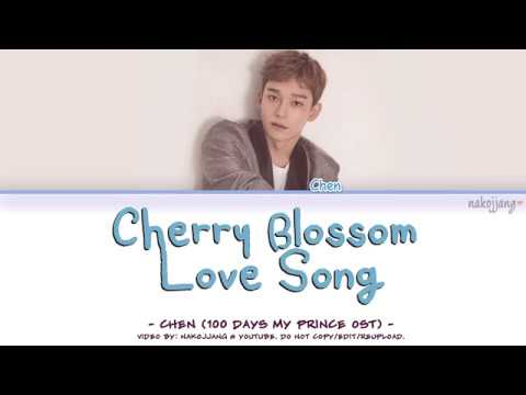 CHEN (첸) – 벚꽃연가 (CHERRY BLOSSOM LOVE SONG) Coded Lyrics Eng/Rom/Han/가사)