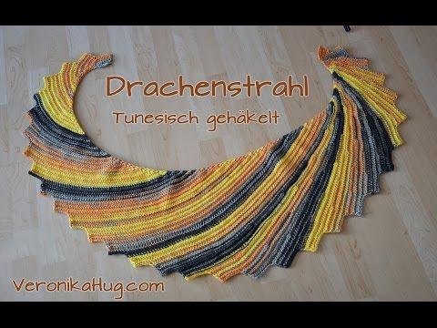 Tunesisch Häkeln Drachenschwanz Aus Arona Von Online Garne