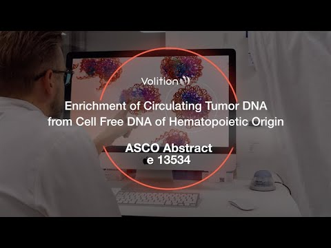 Enrichment of circulating tumor DNA from cell free DNA of Hematopoietic origin