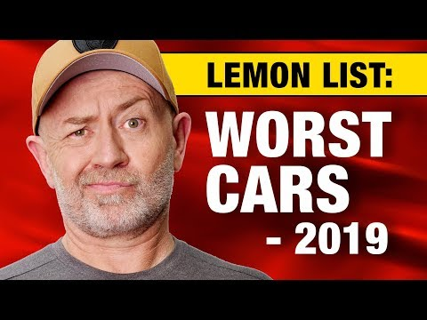 Lemon list: The top 20 worst cars to buy in 2019