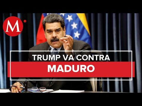 """EU acusa a Nicolás Maduro de """"narcoterrorismo""""; ofrece 15 mdd por su arresto"""