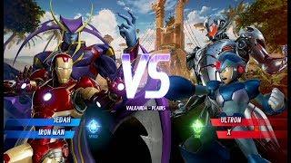 Marvel vs. Capcom: Infinite - Jedah és Gamora Játékmenet