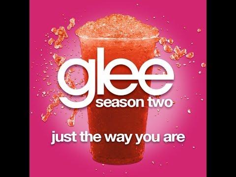 Glee - Just The Way You Are [LYRICS]