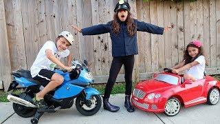 Hadil magic stick turn old bicycle into brand new Power Wheels cars Hzhtube Kids Fun