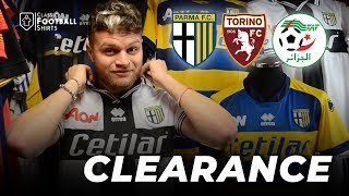 New Clearance featuring Parma, Torino and Algeria - Classic Football Shirts