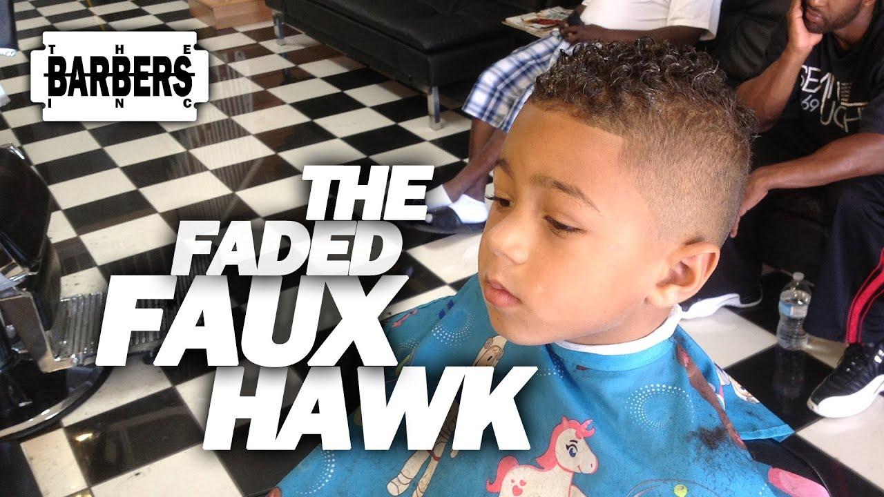 How To Kid S Faded Faux Hawk Mohawk Men S Haircut