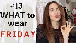 #15 HOW TO WEAR CLOTHES WITH FEATHERS | WHAT TO WEAR FRIDAY