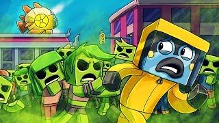 The Zombie Outbreak - Kings of Atlantis in Minecraft