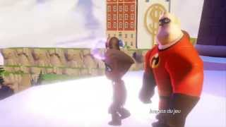 Disney infinity : pack aventure les indestructibles :  bande-annonce VO