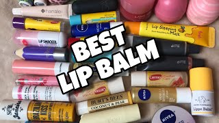 BEST Favorite CLEAR LIP BALMS 2019 !! Drugstore and High End