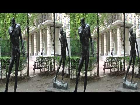 Paris, Rodin Museum 2013 3D