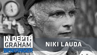 Niki Lauda: I have a reason to look ugly, most people don't