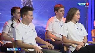 Омск сегодня принял участие в масштабном образовательном проекте и вышел на прямую связь с бортом МКС