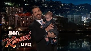 Jimmy Kimmel Returns with Baby Billy After Heart Surgery