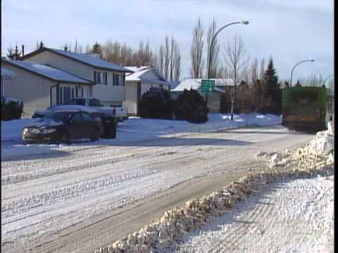 Snow - A fact of life in Saskatoon
