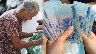 Bà Lão Ngheo` Vào Ngân Hàng Rút 500 Ngàn Bị Nhân Viên C,o,i Thư,ơ`ng Để Rồi Nhận Ca'i Kê't Đă'ng