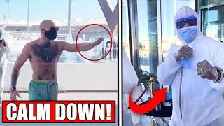 Conor McGregor Warns Hotel Worker on Fight Island...Michael Chandler discredits Nate Diaz, Kevin Lee
