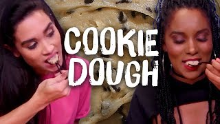 Trying Edible Cookie Dough! (Cheat Day)