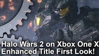 Halo Wars 2 - Gamescom Demo vs PC/Xbox One Graphics Comparison