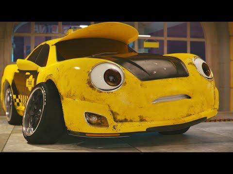 Supertaxík - trailer na rozprávku