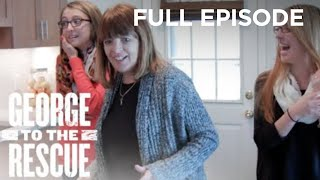 A Surprise Kitchen Remodel For A Mother And Her Two Daughters | George to the Rescue