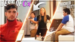 Mexican Andy Kicked Out of His Room Inside the Streamer Mansion | Cx Streamers React to Him Leaving