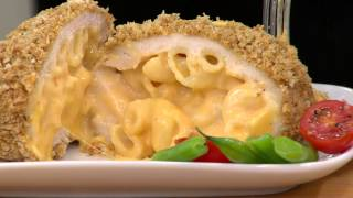 Stuffin Gourmet (16) 7 oz. Mac and Double Cheese Stuffed Chicken with Sharon Faetsch