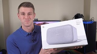 Google Home Max Unboxing and Setup!