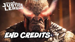 Justice League Snyder Cut Ending - End Credit Scene Breakdown and Easter Eggs