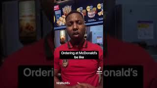 TikTok Ordering at McDonald's be like