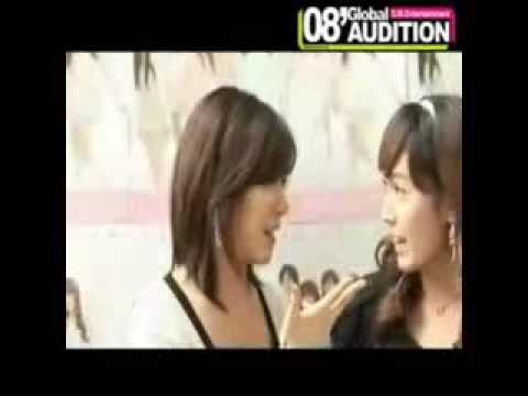 SNSD Jessica & Tiffany speaking english