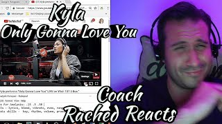 Teacher Reaction + Analysis (+ Freaking Out) - Kyla - Only Gonna Love You - Wish Bus
