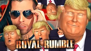 TRUMP ROYAL RUMBLE!! | Mr President