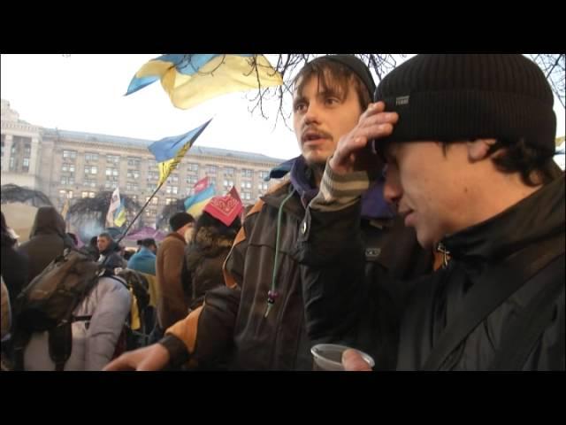 На Майдан свозят воспитанников приютов для сирот