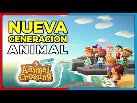 ¡¡ANIMAL CROSSING: NEW HORIZONS para NINTENDO SWITCH PRESENTADO!! FECHA Y TRÁILER