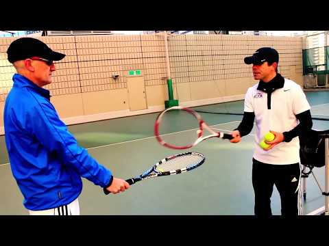 Teaching forehand and backhand strokes