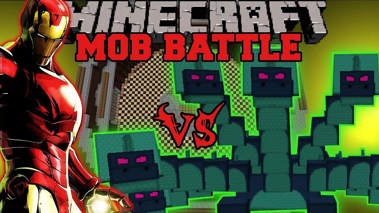 Hydra Vs Iron Man Minecraft Mod Battle Mob Battles