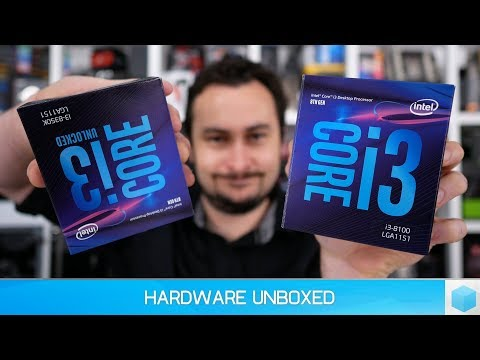 video Intel Core i3 8100