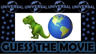 CAN YOU GUESS THE UNIVERSAL PICTURES MOVIE BY THE EMOJI?