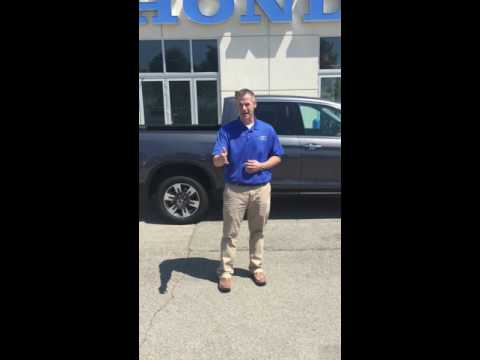 Jared Stewart at Bill Walsh Honda features the ALL NEW Ridgeline
