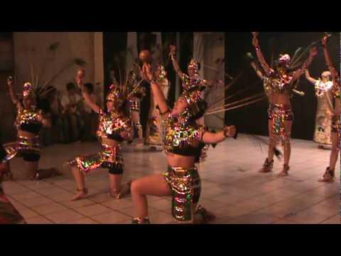 """""""Danza de concheros"""" Cedart Morelia - YouTube"""