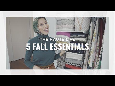 5 Fall Essentials for Every Hijabi