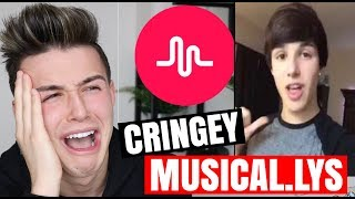 REACTING TO MY OLD CRINGEY MUSICAL.LYS!