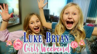 Luke Bryan Concert/Girls Weekend in Indiana/Mady's First Concert Vlog